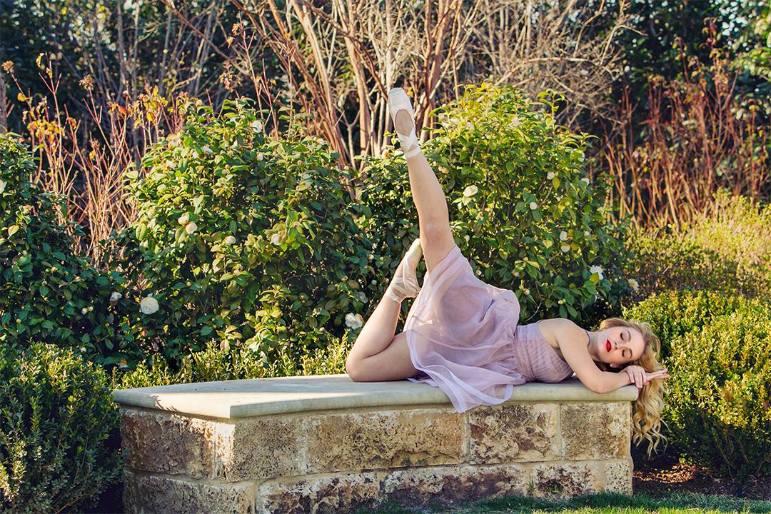 dallas ballet photographer, dallas arboretum