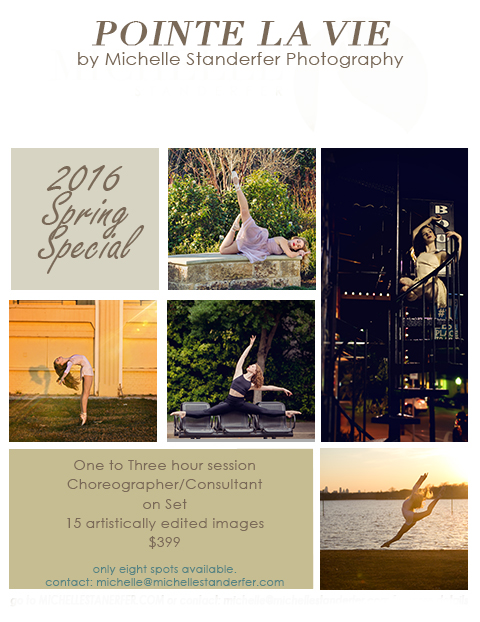 dance photography spring special
